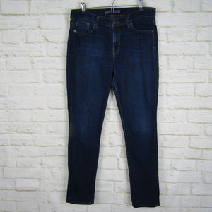 J.Brand Skinny Leg Jeans Ignite Size 31 Dark Wash